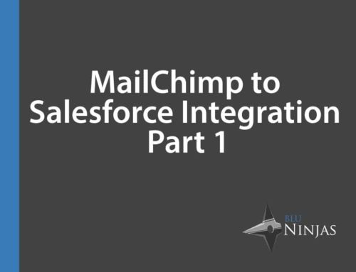 MailChimp to Salesforce Integration – Part 1